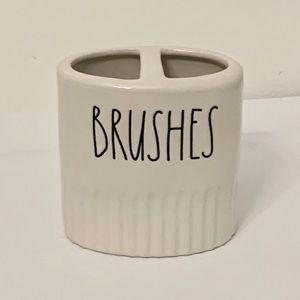 Rae Dunn BRUSHES Toothbrush Holder